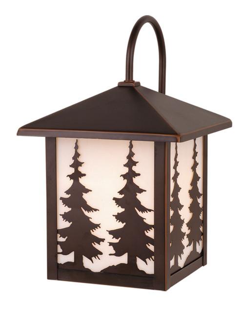 "Vaxcel OW33483BBZ Yosemite 8"" Outdoor Wall Light"