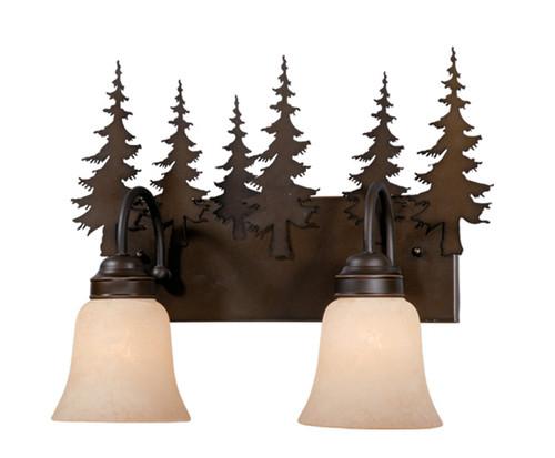 Vaxcel VL55502BBZ Yosemite 2 Light Vanity