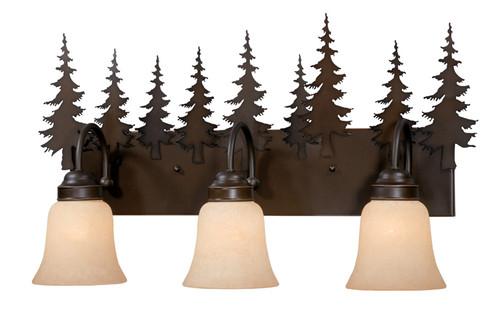 Vaxcel VL55503BBZ Yosemite 3 Light Vanity