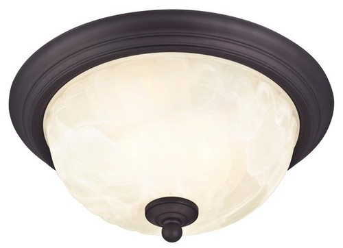 Westinghouse 6230900 Naveen Two-Light Outdoor Flush-Mount Fixture