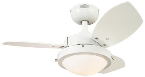 "Westinghouse 7247200 Wengue 30"" Reversible Three-Blade Indoor Ceiling Fan"