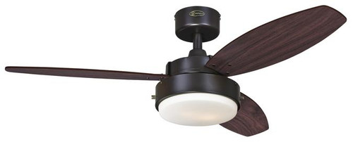 """Westinghouse 7201900 Alloy 42"""" Reversible Three-Blade Indoor Ceiling Fan"""
