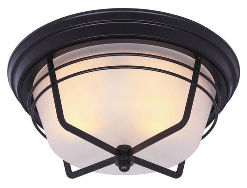 Westinghouse 6230300 Bonneville Two-Light Outdoor Flush Fixture