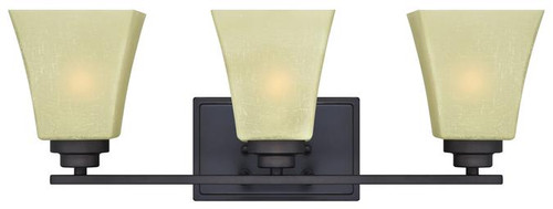 Westinghouse 63442A Ewing Three-Light Indoor Wall Fixture