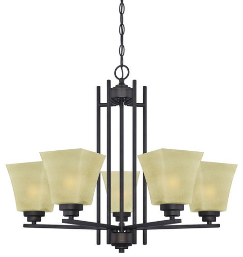Westinghouse 63443A Ewing Five-Light Indoor Chandelier