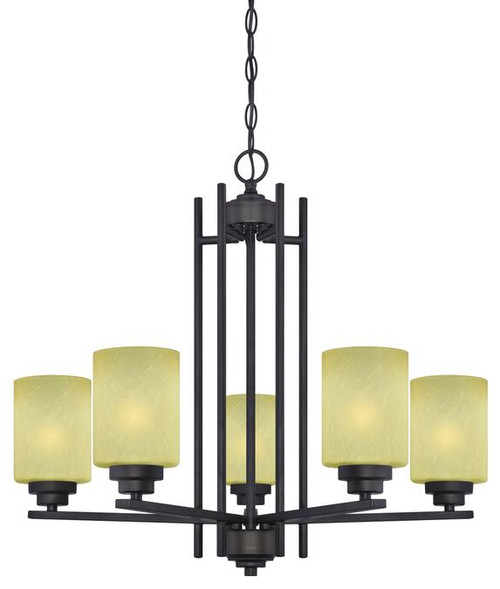 Westinghouse 63443B Ewing Five-Light Indoor Chandelier