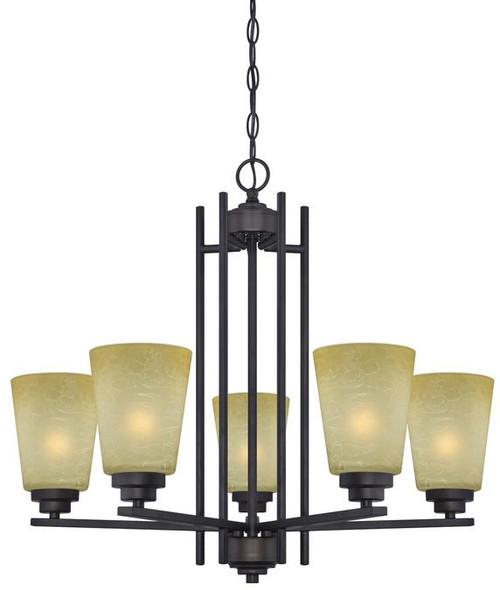 Westinghouse 63443C Ewing Five-Light Indoor Chandelier