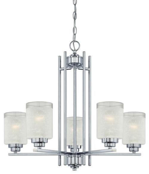 Westinghouse 63441A Hansen Five-Light Indoor Chandelier