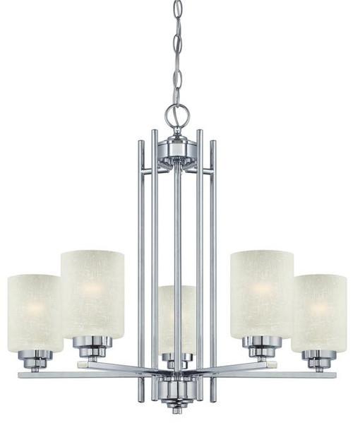 Westinghouse 63441B Hansen Five-Light Indoor Chandelier