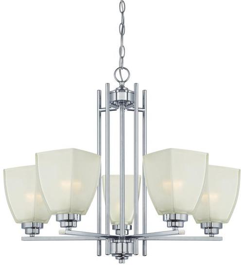 Westinghouse 63441C Hansen Five-Light Indoor Chandelier