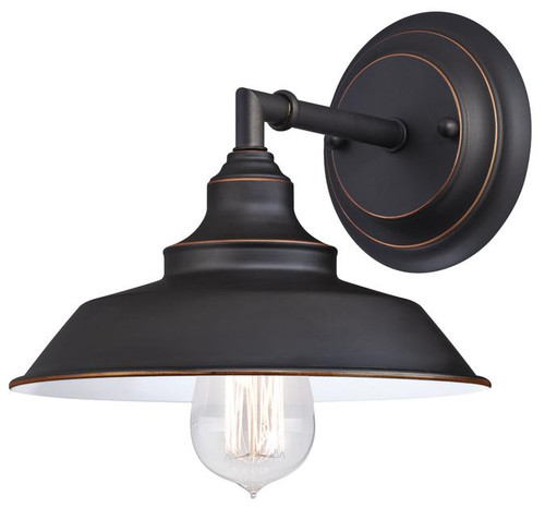 Westinghouse 6343500 Iron Hill One-Light Indoor Wall Fixture