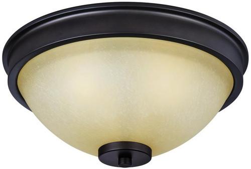 Westinghouse 6341400 Karah Three-Light Indoor Flush Ceiling Fixture
