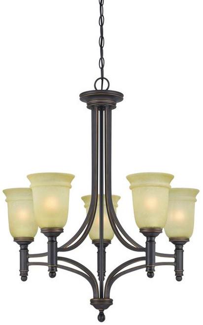 Westinghouse 6342900 Montrose Five-Light Indoor Chandelier