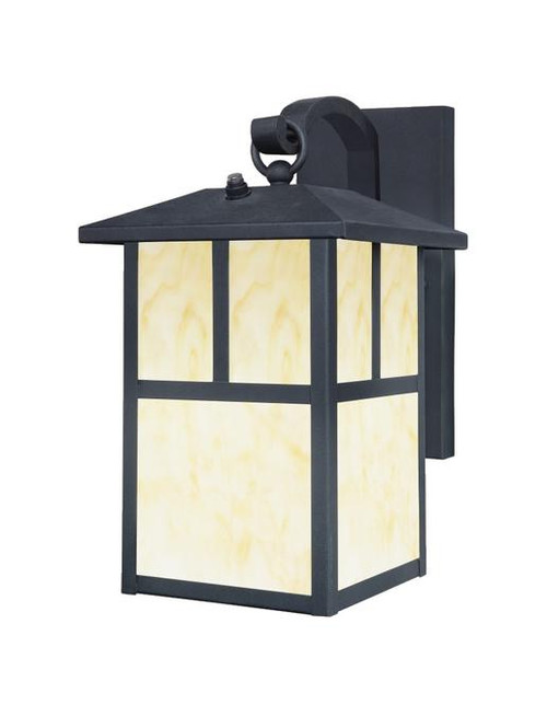 Westinghouse 6482900 One-Light Outdoor Wall Lantern with Dusk to Dawn Sensor