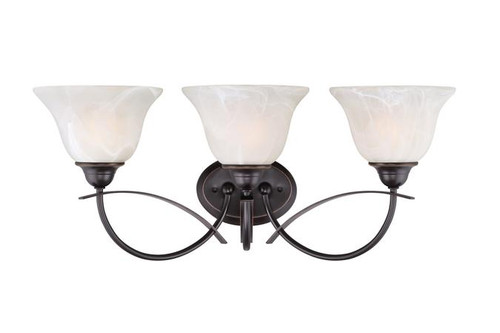 Westinghouse 6340100 Pacific Falls Three-Light Indoor Wall Fixture
