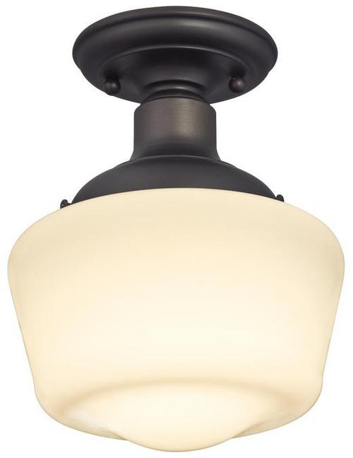 Westinghouse 6342200 Scholar One-Light Indoor Semi-Flush Ceiling Fixture