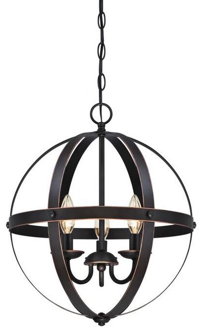Westinghouse 6341800 Stella Mira Three-Light Pendant