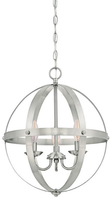 Westinghouse 6341900 Stella Mira Three-Light Pendant
