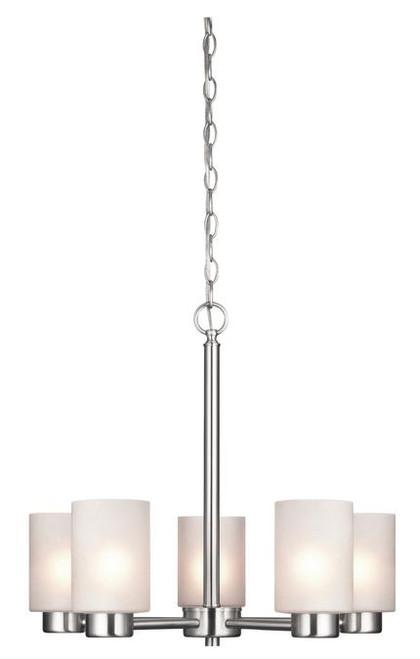 Westinghouse 6227400 Sylvestre Five-Light Indoor Chandelier
