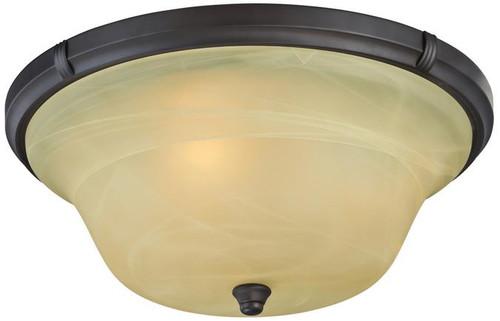 Westinghouse 6342600 Tolbut Three-Light Indoor Flush Ceiling Fixture