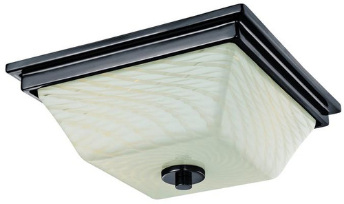 Westinghouse 6342700 Wilkes Two-Light Indoor Flush Ceiling Fixture