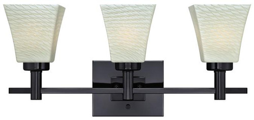 Westinghouse 63437A Wilkes Three-Light Indoor Wall Fixture