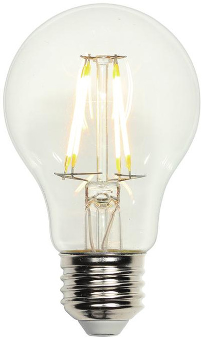 Westinghouse 4316400 4.5 Watt (40 Watt Equivalent) A19 Dimmable Filament LED Light Bulb 2700K Clear E26 (Medium) Base, 120 Volt
