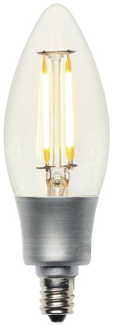 Westinghouse 4316800 4.5 Watt (Replaces 40 Watt) Decorative B11 Torpedo Dimmable Filament LED Lightbulbs