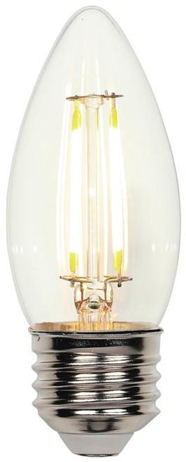 Westinghouse 4316900 4.5 Watt (60 Watt Equivalent) B11 Dimmable Filament LED Light Bulb 2700K Clear E26 (Medium) Base, 120 Volt