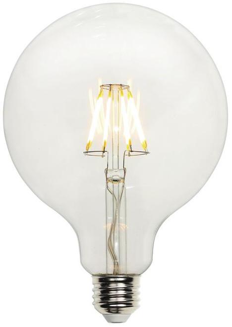Westinghouse 4317500 6.5 Watt (60 Watt Equivalent) G40 Dimmable Filament LED Light Bulb 2700K Clear E26 (Medium) Base, 120 Volt