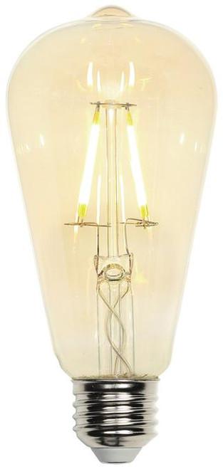 Westinghouse 4317700 4.5 Watt (40 Watt Equivalent) ST20 Dimmable Filament LED Light Bulb 2200K Amber E26 (Medium) Base, 120 Volt