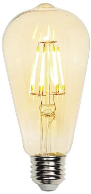 Westinghouse 4317800 6.5 Watt (60 Watt Equivalent) ST20 Dimmable Filament LED Light Bulb 2200K Amber E26 (Medium) Base, 120 Volt