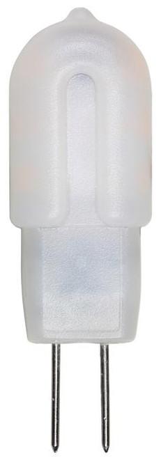 Westinghouse 3318400 1.5 Watt (10 Watt Equivalent) G4 LED Light Bulb, 12-Volt 3000K Frost G4 Base, 12 Volt