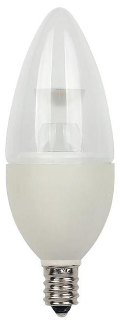 Westinghouse 3321100 2.8 Watt (25 Watt Equivalent) B11 Dimmable LED Light Bulb