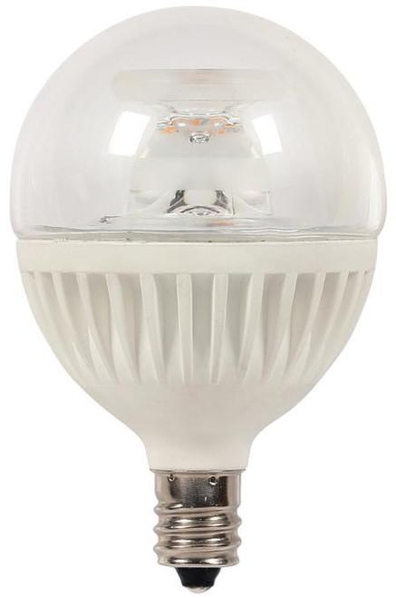Westinghouse 3321300 7 Watt (Replaces 60 Watt) Globe G16-1/2 Dimmable LED Lightbulbs, ENERGY STAR 2700K Warm White Light E12 (Candelabra) Base, 120 Volt