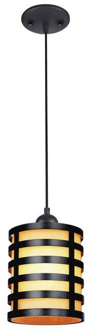 Westinghouse 6000400 One-Light Adjustable Mini Pendant