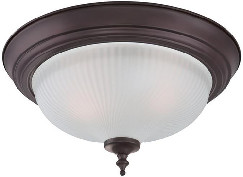 Westinghouse 6344500 Two-Light Indoor Flush Ceiling Fixture