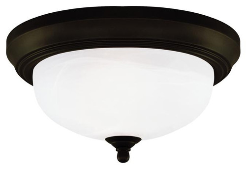 Westinghouse 6429100 Two-Light Indoor Flush-Mount Ceiling Fixture