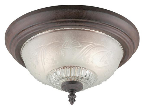 Westinghouse 6431600 Two-Light Indoor Flush-Mount Ceiling Fixture