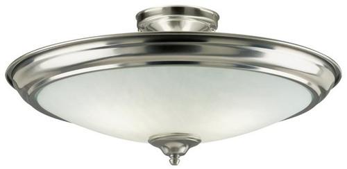 Westinghouse 6434000 Two-Light Indoor Semi-Flush-Mount Ceiling Fixture