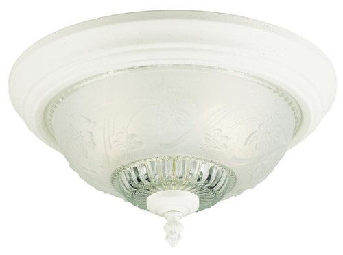 Westinghouse 6616200 Two-Light Indoor Flush-Mount Ceiling Fixture