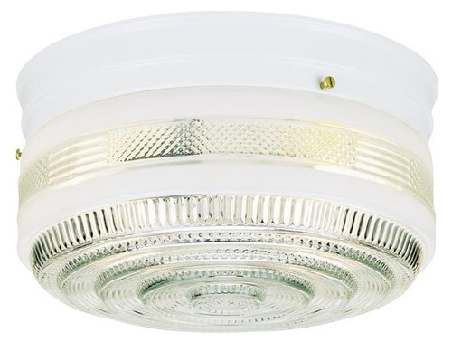 Westinghouse 6623800 Two-Light Indoor Flush-Mount Ceiling Fixture