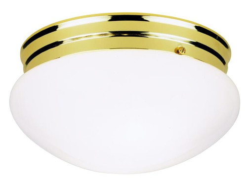 Westinghouse 6660900 Two-Light Indoor Flush-Mount Ceiling Fixture