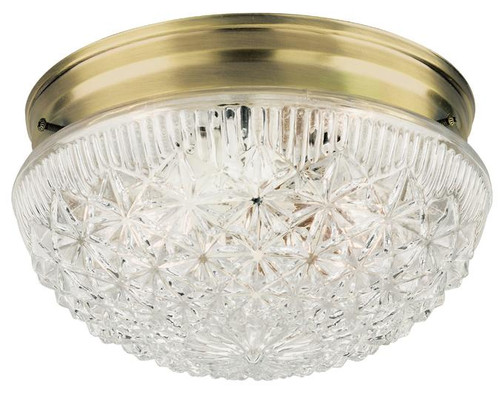 Westinghouse 6661000 Two-Light Indoor Flush-Mount Ceiling Fixture
