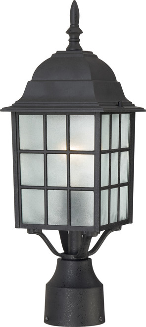 "NUVO Lighting 60/4909 Adams 1 Light 17"" Outdoor Post with Frosted Glass"