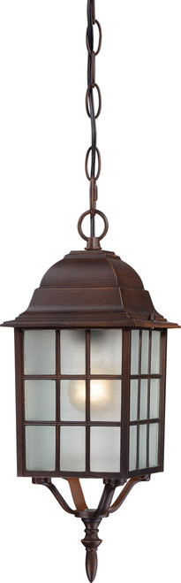 """NUVO Lighting 60/4912 Adams 1 Light 16"""" Outdoor Hanging with Frosted Glass"""