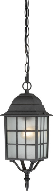 "NUVO Lighting 60/4913 Adams 1 Light 16"" Outdoor Hanging with Frosted Glass"