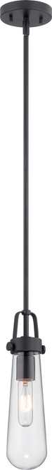 NUVO Lighting 60/5362 Beaker 1 Light Mini Pendant with Clear Glass