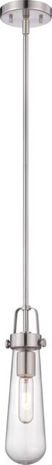 NUVO Lighting 60/5262 Beaker 1 Light Mini Pendant with Clear Glass