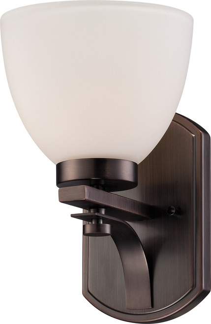 NUVO Lighting 60/5111 Bentley 1 Light Vanity Fixture with Frosted Glass